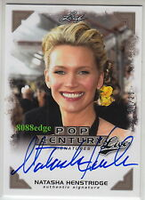 "2014 LEAF POP CENTURY AUTO: NATASHA HENSTRIDGE #4/20 ON CARD AUTOGRAPH ""SPECIES"""