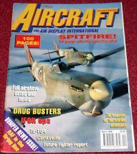 Aircraft Illustrated Magazine 1996 April Caravelle,Bulldog,Tu104,Spitfire,RCAF