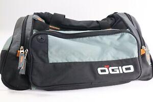 Ogio Duffle Bag Sport Gym Gold Bag w/ Shoulder Strap Grey & Black