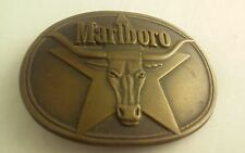Men's belt buckle Metal Marlboro 3D