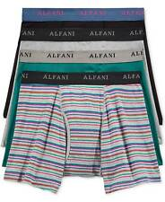 Alfani Underwear Men Black Blue Gray Clic Fit Boxer Briefs 4 Pack Size S
