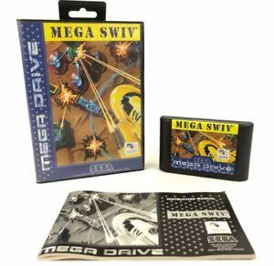 Mega Swiv- Sega Mega Drive - PAL - OVP, BA & Modul - Vintage Videospiel