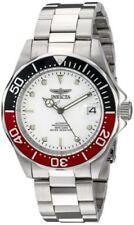 Relojes de pulsera de plata de acero inoxidable