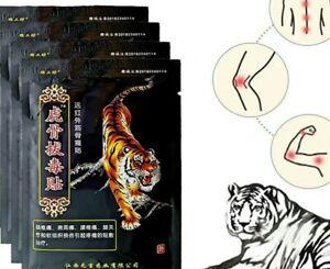 Lot 40 patchs baume du tigre anti-douleur chauffant