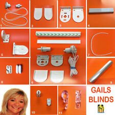Roller Blind Spares Weights, Chains, Brackets & More...