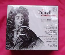 A Purcell Campanion  Harmonia Mundi BOX6CD France 1995 The tercentenary