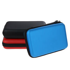 EVA Skin Carry Hard Case Bag PouchCover for Nintendo 3DS XL LL w/ Strap Black