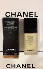 CHANEL PERFECTION LUMIERE LONG-WEAR FLAWLESS FLUID MAKEUP 10 Beige Foundation