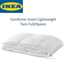 Ikea Myskgras Comforter Insert White Lightweight Twin Full/Queen Free Shipping