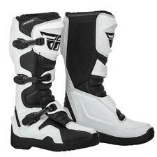 Fly Racing Maverik MX Offroad Enduro Motocross Boots White Adults