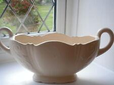 Large art deco white posse vase  arther wood