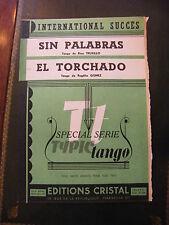 Partition Sin Palabras El Torchado Tangos Truxillo Gomez