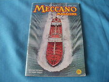 889 I MECCANO MAGAZINE  N°4 AVRIL 1959 CATALOGUE 76 PAGES 13,8 * 20,7 CM