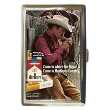 Retro Ads 1972 Marlboro Country Cigarette Money Case Credit Card Holder Rare!