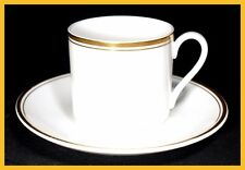 Royal Doulton Gold Concord Coffee Cups & Saucers - 1st Quality Excellent Conditi