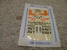 Microscale  decals 1/48 48-109 T-28 Navy Marines    WW