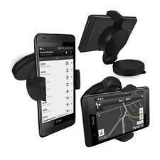 Supporto auto parabrezza cruscotto per HTC ONE M8 + Disco Adesivo Cruscotto