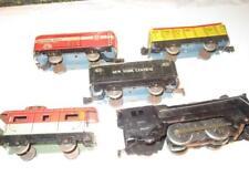 VINTAGE MARX TRAINS- 5840 FREIGHT SET- FAIR   - 0/027- BOXED-  S14