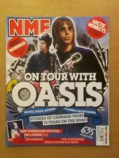 NME OCTOBER 27 2007 OASIS ARCTIC MONKEYS AMY WINEHOUSE KLAXONS COURTEENERS