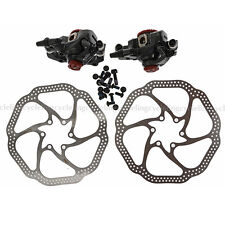 AVID BB7 MTB Disc Brakes set Front & Rear Calipers with 160mm HS1 Rotors