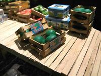 Spur G 2 Kisten Wassermelonen, Melonen, Obst, Ladegut, passt zur LGB, G-Scale