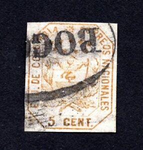 Colombia 1863 stamp Mi#18 used CV=80€