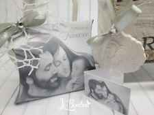 Bomboniera Sacra Famiglia PERSONALIZZATA matrimonio battesimo comunion