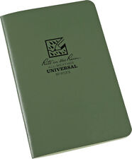 Rite in the Rain Stapled Notebook 3-Pack 24 Green Paper Sheets