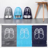 Travel Drawstring Shoe Storage Bag Tote Laundry Dustproof Portable Pouch