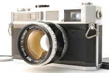 """N. MINT- w/ case"" CANON 7 RANGEFINDER MF w/50mm f1.4 LENS Leica L39 Mount Japan"