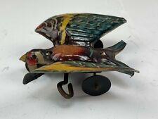 Antique German Tin Wind Up Eagle Bird