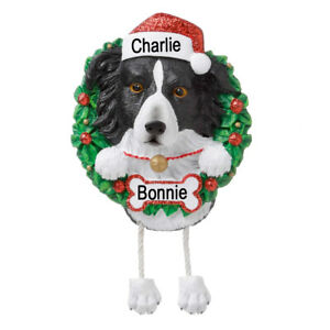 Personalised Dog Breed Christmas Decorations by PolarX