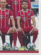 BAM1718 - Sticker 9 - Mannschaftsbild - Panini FC Bayern München 2017/18
