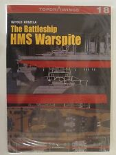 The Battleship HMS Warspite - Line Drawings by Kagero