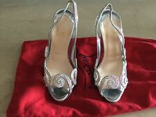 Christian Louboutin pvc clear shoes with straws Chrystal's size 35.5 SOLD OUT