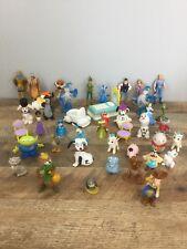 Huge Lot Of Disney PVC & Toy Figure Lot Princess Cinderella Fairies Story MORE