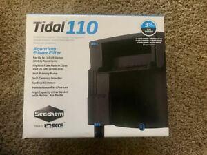 Seachem Tidal 110 Aquarium Power Filter Hang on Back HOB