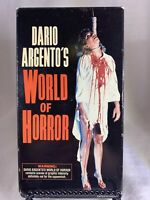Dario Argent's World of Horror VHS - 1985 Vidmark - Giallo Documentary