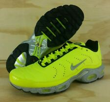 Nike Air Max Plus TN Tuned QS Premium PRM Full Volt Matte Silver 815994-700 Sz 9