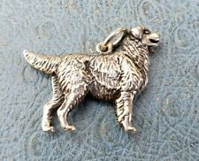 James Avery Retired Golden Retriever Uncut In REALLY good Condition