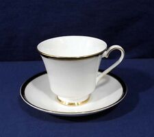 Minton Fine Bone China SATURN Black Royal Doulton Tea Cup and + Saucer Set