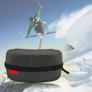 Snowboard Goggle Glasses Hard Case Holder Box Storage Protector High Strength~
