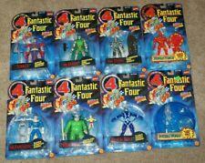 Fantastic Four Lot of 8 Marvel Action Figures Toy Biz Terrax Mole Man Dr Doom
