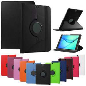 360 Rotating Leather Case Cover Samsung Galaxy Tab S2 9.7 SM-T810 T813 T815 T819