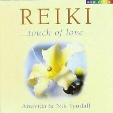 Reiki Touch of Love by Anuvida & Nik Tyndall (CD, Jan-2000) [Very Good]