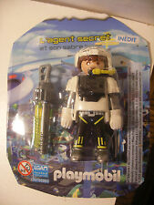 playmobil inedit L'Agent Secret Sabre Lazer edition speciale 2015 FRANCE Neuf