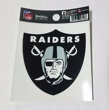 """Oakland Raiders 3 x 4"""" Small Static Cling - Truck Car Auto Window Decal NEW"""