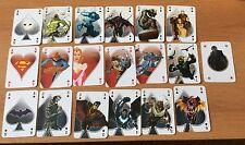 BATMAN DC CARDS  19 CARTE DA GIOCO RW LION PARTE DEL MAZZO