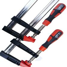 "F MORSETTI BAR Clamp Woodworkers 2pz Set 300 x 50mm per una coppia x 2pz 12 """