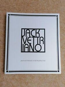 Jack Vettriano: A Retrospective 200 page book in excellent condition